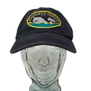 Thirsty Whale Bar Harbor Maine Baseball Cap OSFM